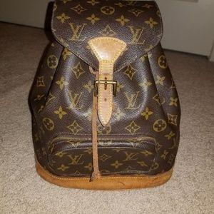 7cbc290843aa Louis Vuitton · Louis Vuitton Monogram Montsouris Backpack
